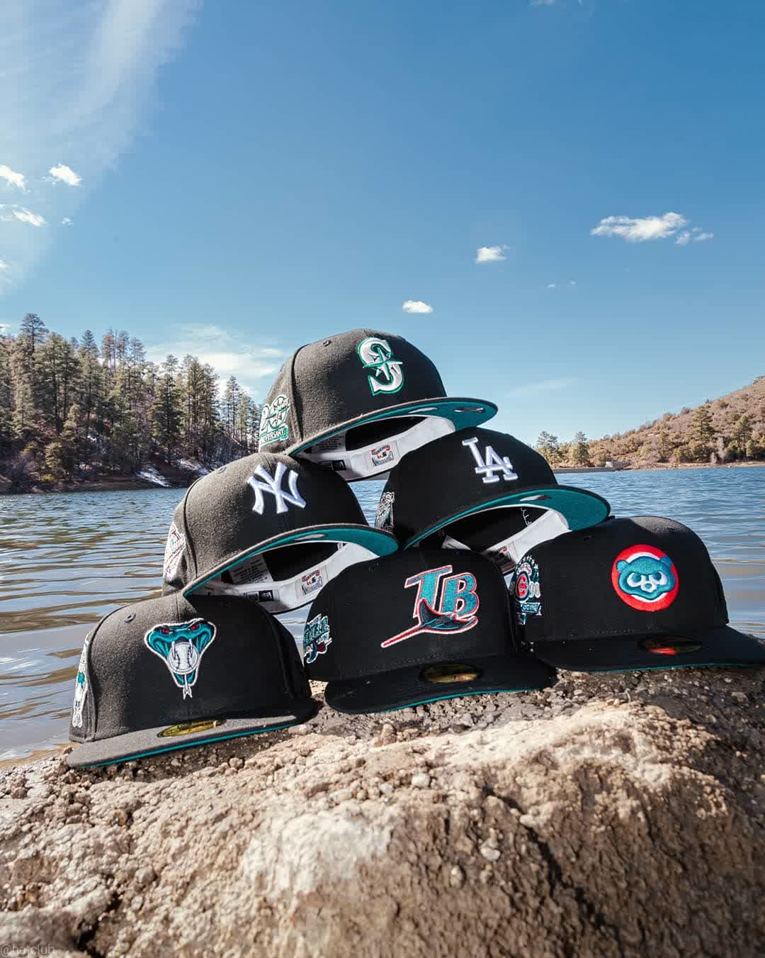 Emerald Bay Fitted Hats