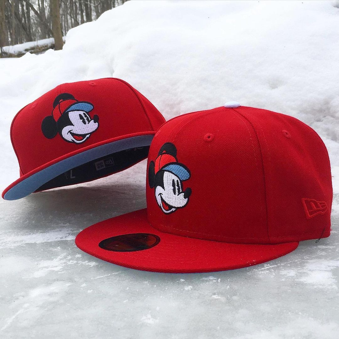 Mickey Mouse Team Collective Fitted Hat