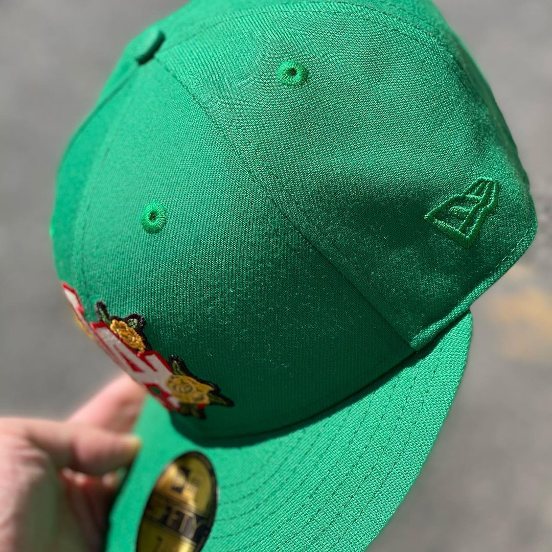 Flower Boy Fitted Hat