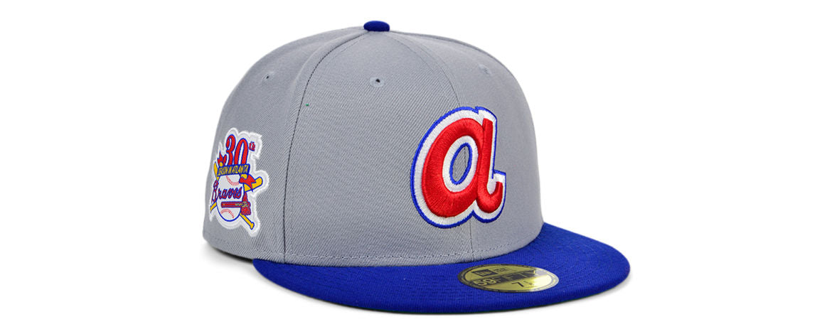 MLB Gray Anniversary Fitted Hat