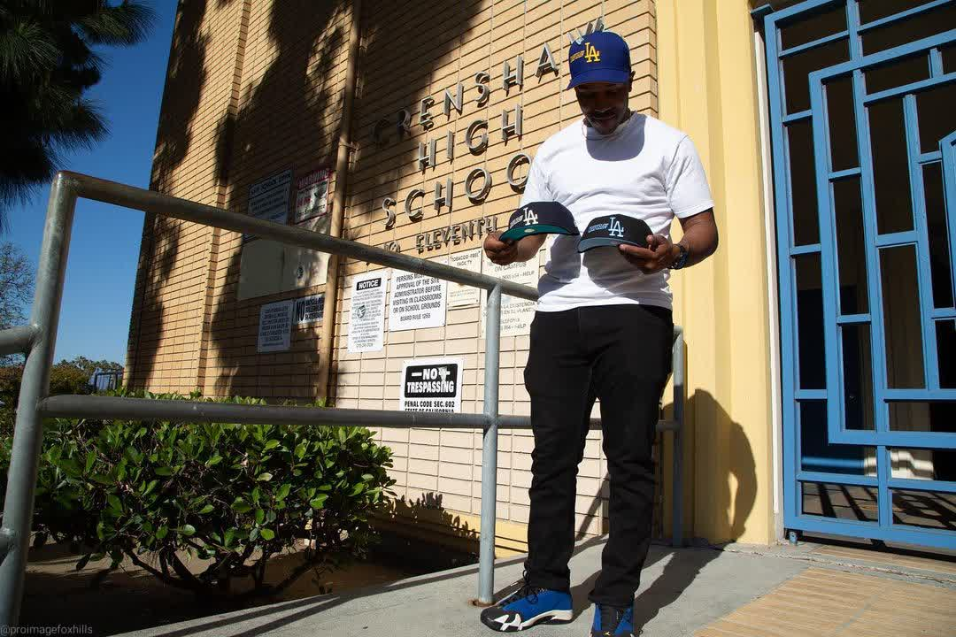 LA Crenshaw Fitted Hat
