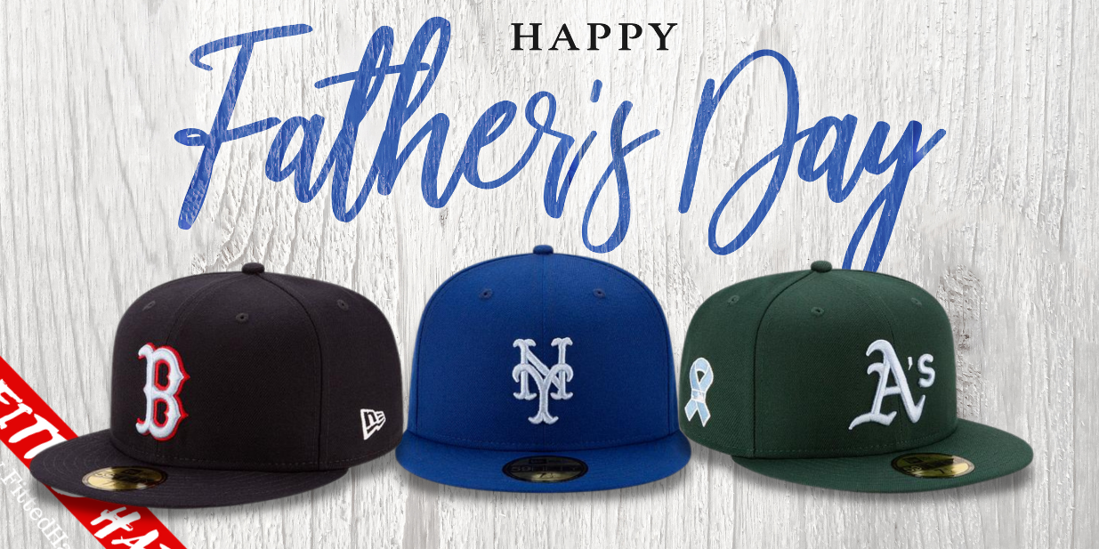 MLB Father's Day Fitted Hats