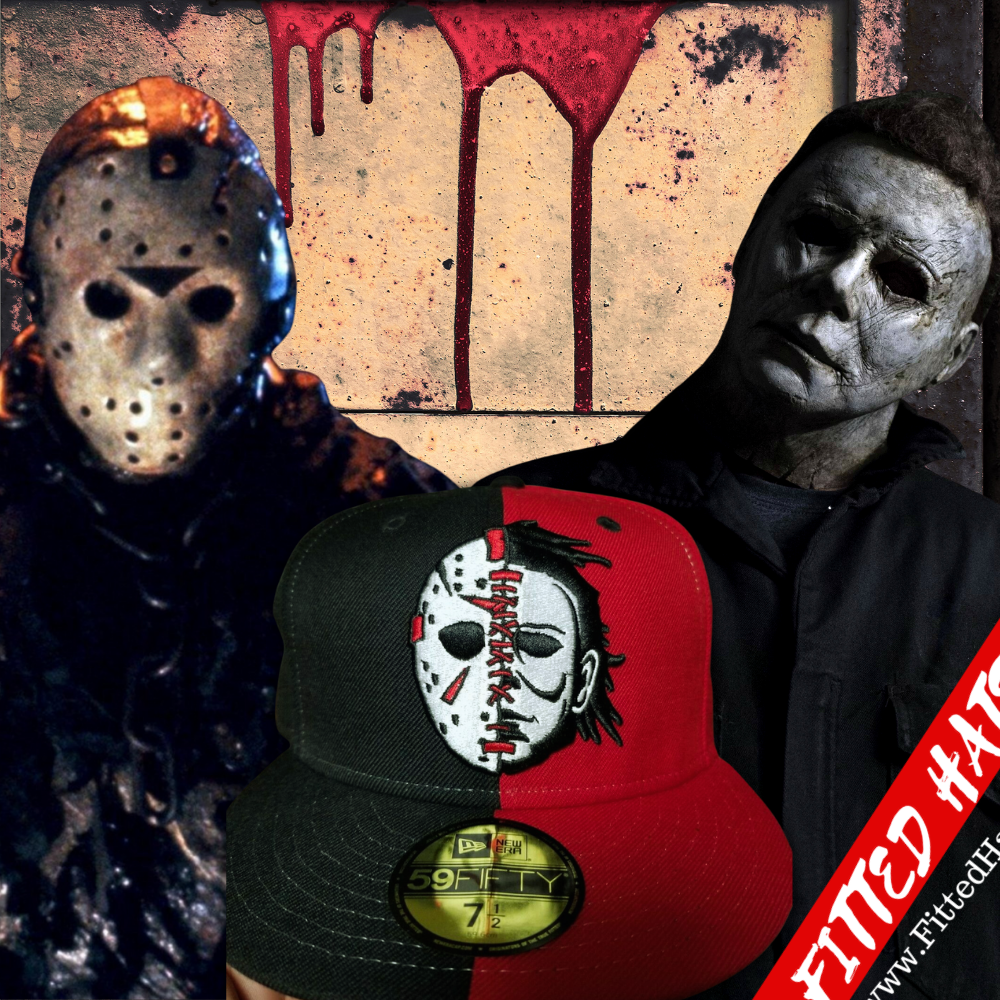 Jason & Michael Myers Fitted Hat