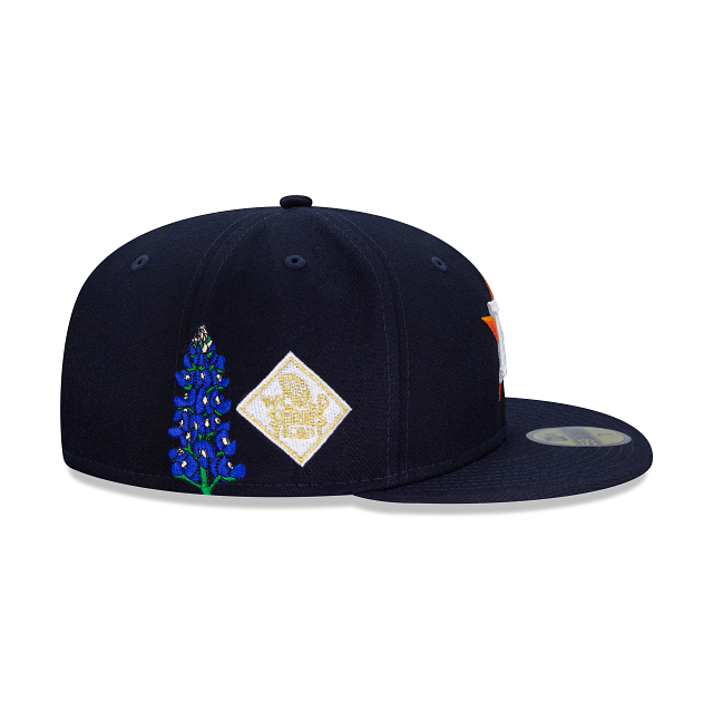 Los Angeles Dodgers MLB State Flower Fitted Hat