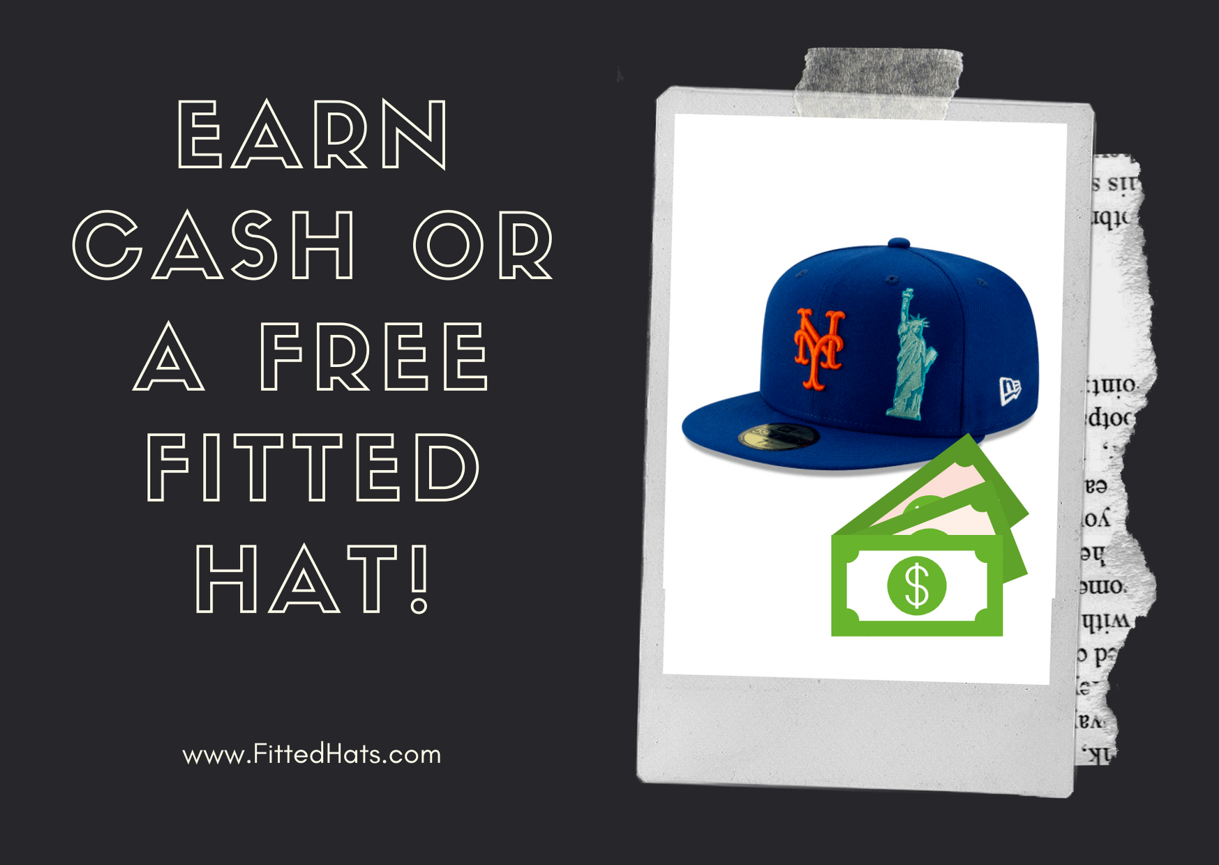 earn a free fitted hat
