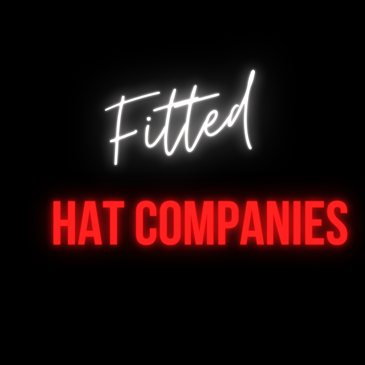 fitted hat companies