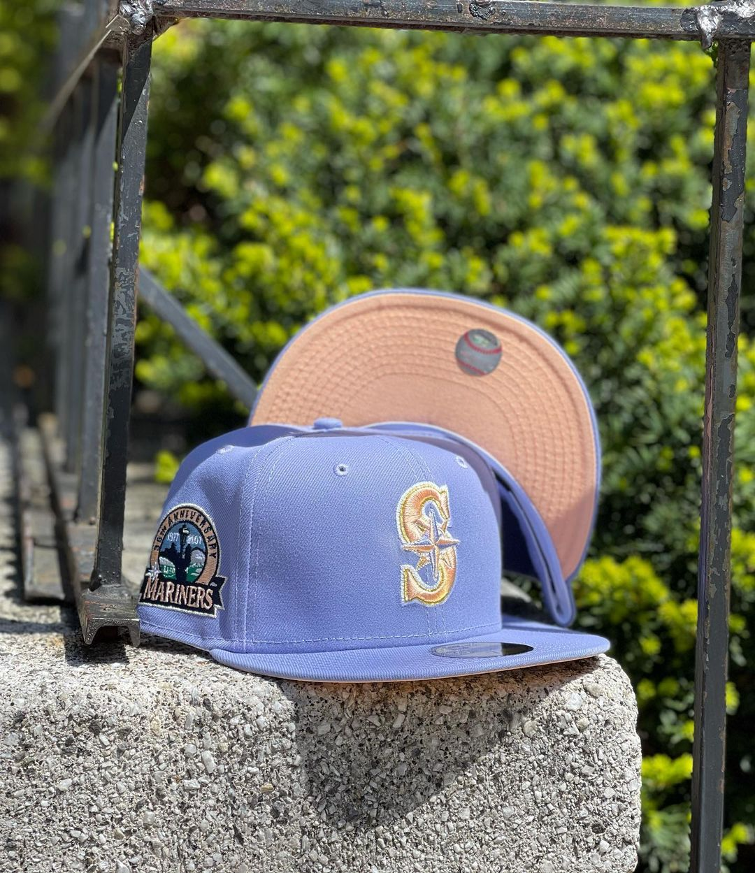 Lavender Fitted Hats