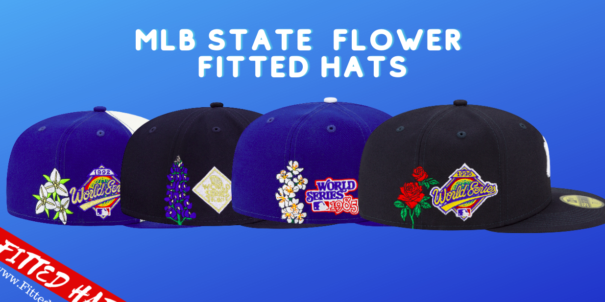 MLB State Flower Fitted Hats