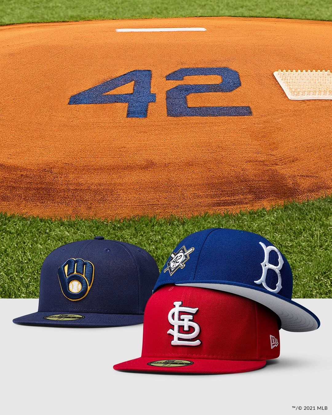Jackie Robinson Fitted Hats