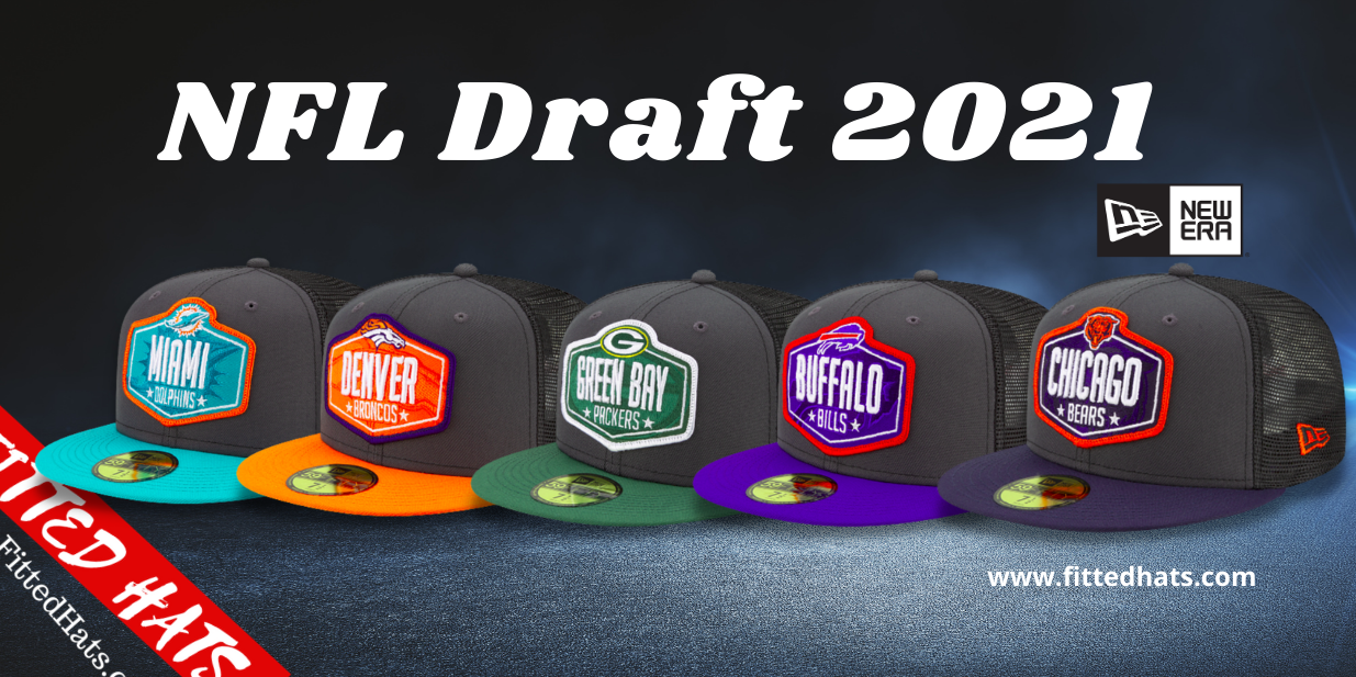 New Era NFL Draft 2021 Fitted Hats