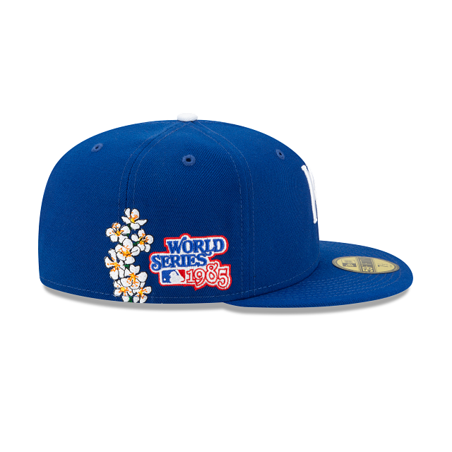 Kansas City Royals MLB State Flower Fitted Hat
