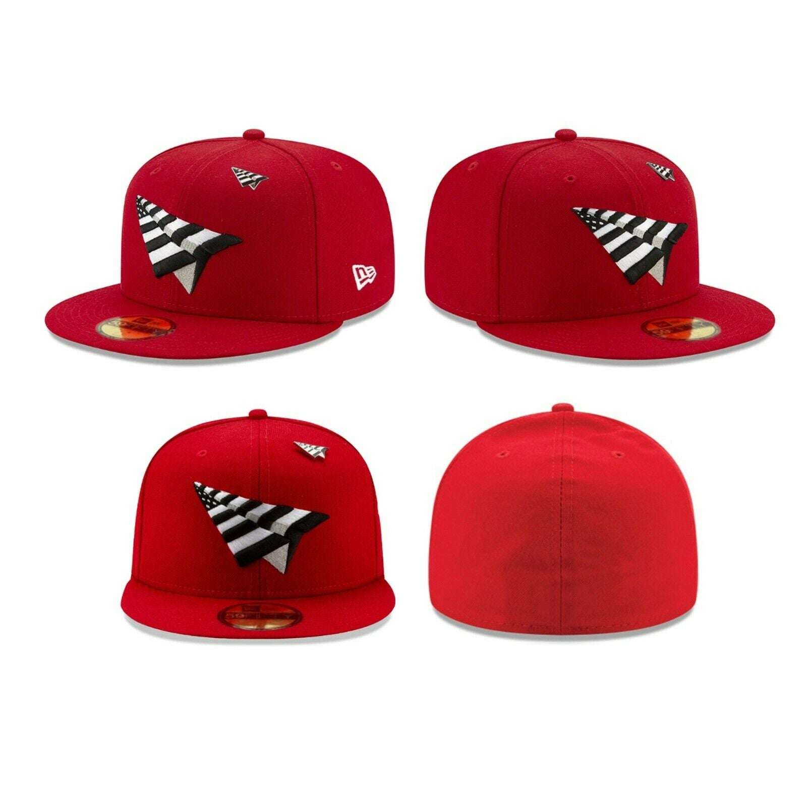 red paper planes hat