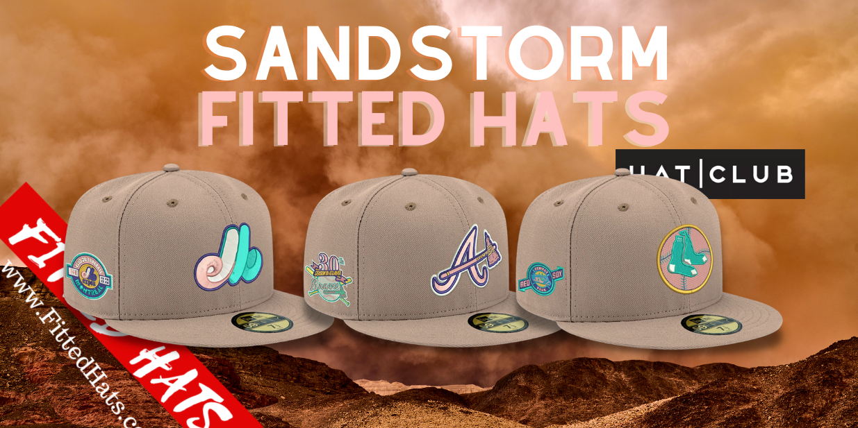 Sandstorm fitted hats by Hat club