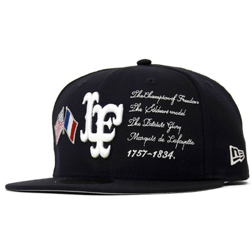 New Era Lafayette  Cross Flag 59Fifty Fitted Hat