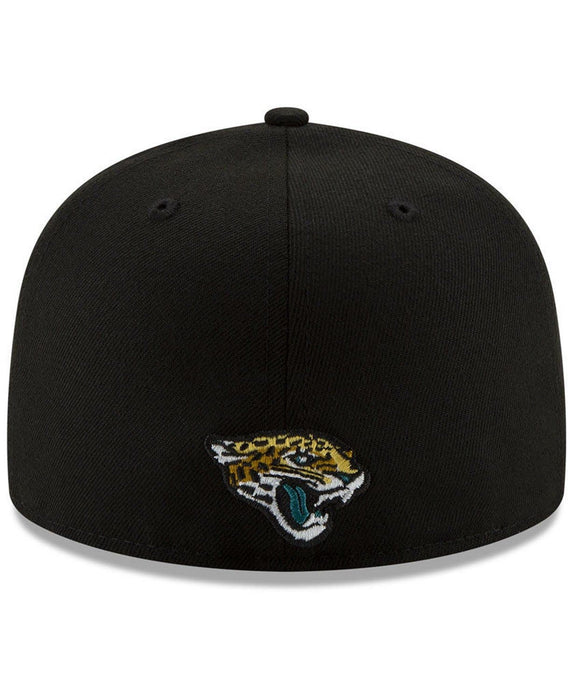 New Era Jacksonville Jaguars Logo Elements 59Fifty Fitted Hat