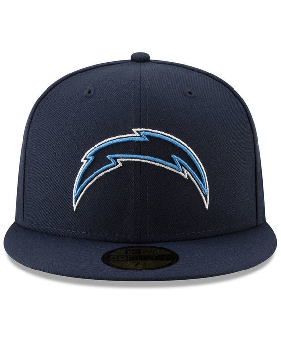 New Era Los Angeles Chargers Logo Elements 59Fifty Fitted Hat