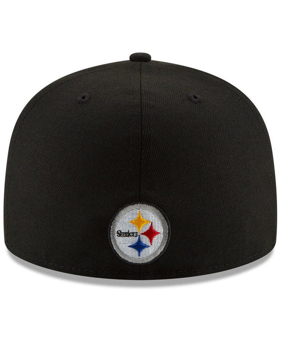 New Era Pittsburgh Steelers Logo Elements 59Fifty Fitted Hat