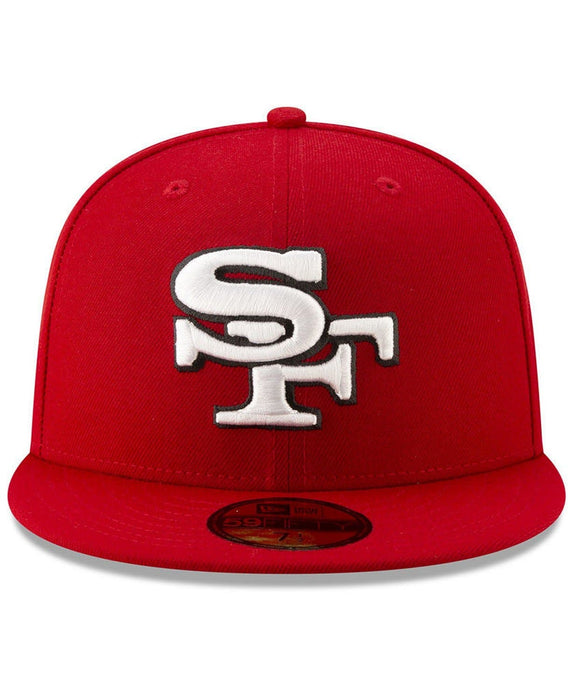 New Era San Francisco 49ers Logo Elements 59Fifty Fitted Hat