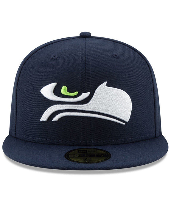 New Era Seattle Seahawks Logo Elements 59Fifty Fitted Hat