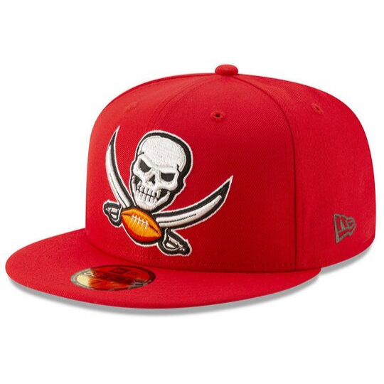 New Era Tampa Bay Buccaneers Logo Elements 59Fifty Fitted Hat