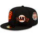 San Francisco Giants Patch Pride Fitted Hat