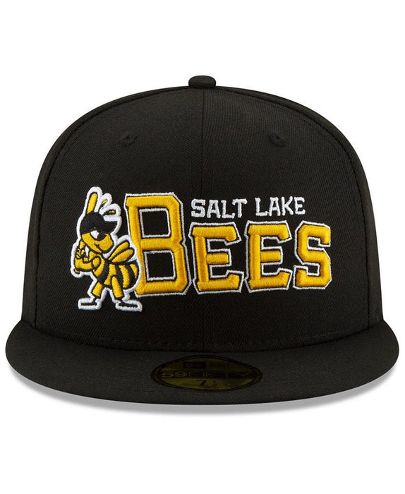 New Era Salt Lake Bees League Patch 59Fifty Fitted Hat
