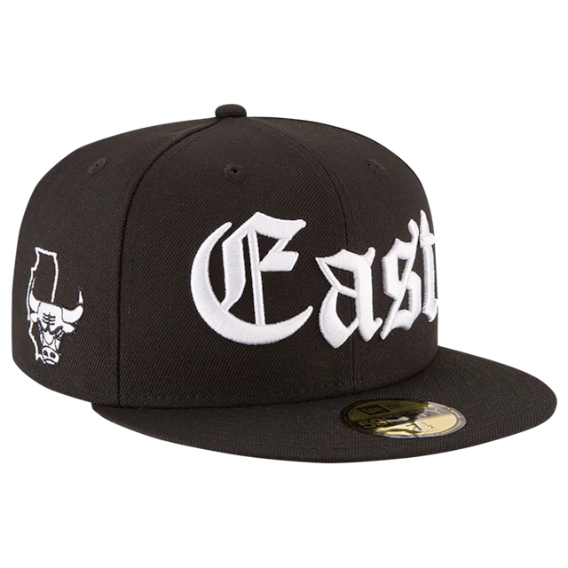 New Era East Chicago Bulls 59Fifty Fitted Hat
