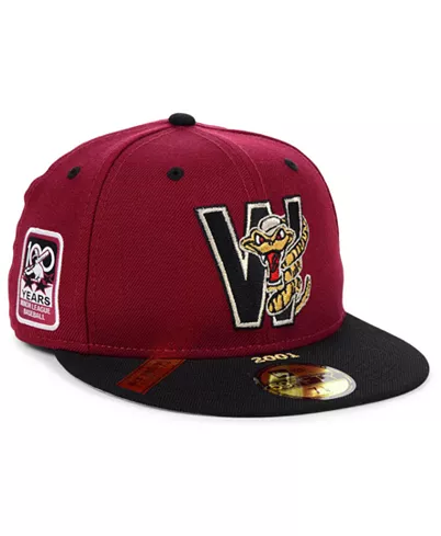 New Era Wisconsin Timber Rattlers 100TH Anniversary 59Fifty Fitted Hat