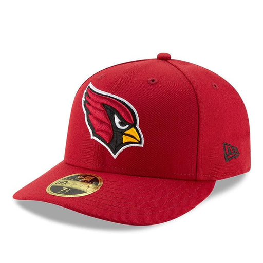 New Era Arizona Cardinals Red Omaha Low Profile 59FIFTY Fitted Hat