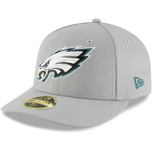Philadelphia Eagles Grey Low Profile Fitted Hat