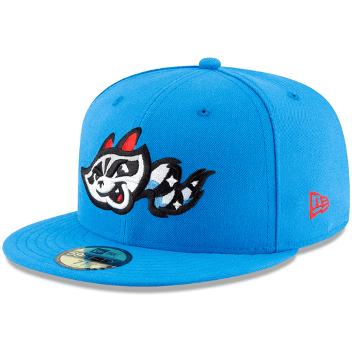 Baby Blue Rocket City Trash Pandas Fitted Hat