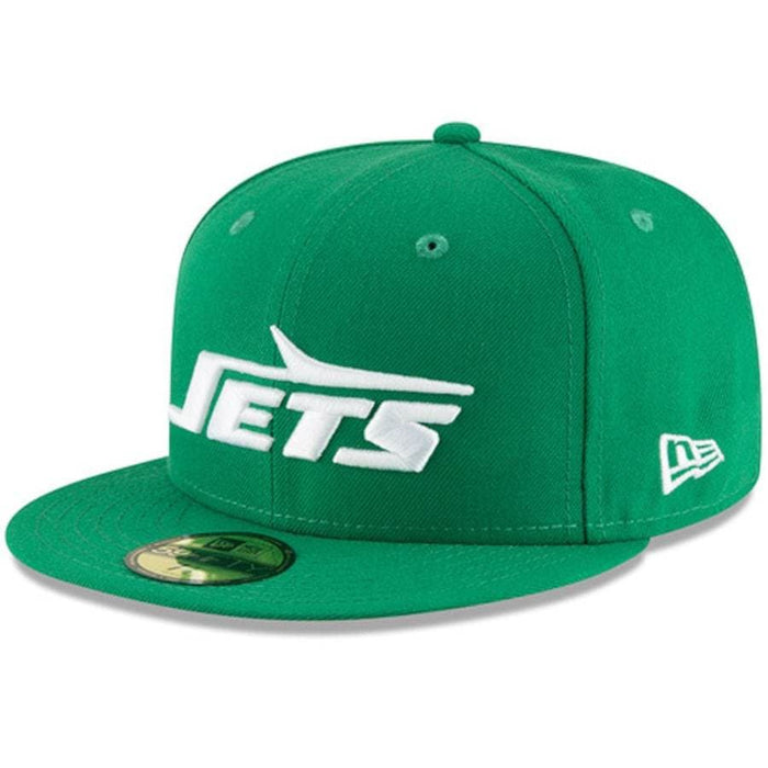 New Era New York Jets Green Omaha Throwback 59FIFTY Fitted Hat