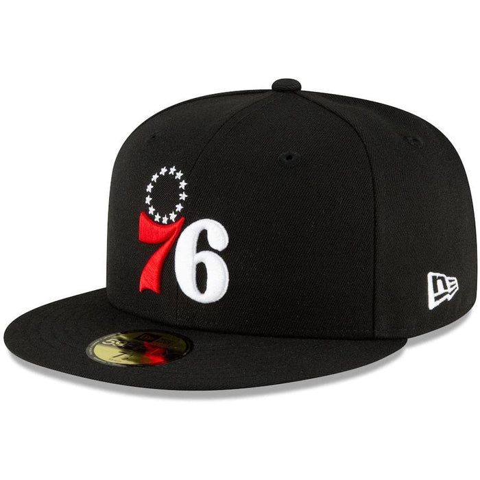 Philadelphia 76ers Pink Bottom Fitted Hats