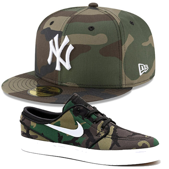 New Era New York Yankees Camo 59Fifty Fitted Hat