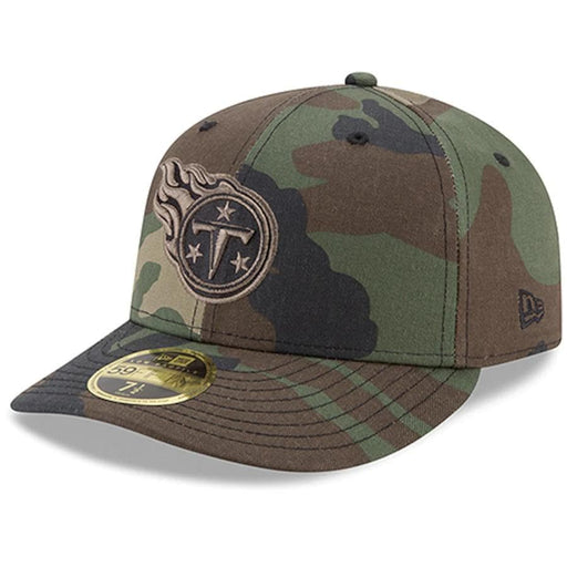 Tennessee Titans Camo Low Profile Fitted Hat