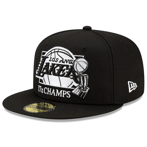 New Era Lakers NBA Finals Champs Trophy 59FIFTY Fitted Hat