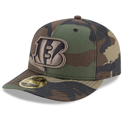 Cincinnati Bengals Camo Low Profile Fitted Hat