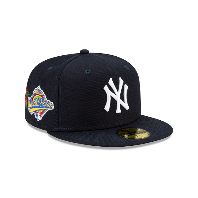 New Era New York Yankees State Flower 59Fifty Fitted Hat