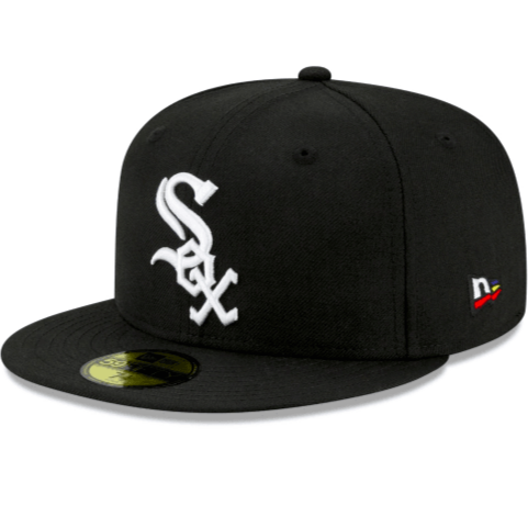 New Era Joe Freshgood X Chicago White Sox (Black) Fitted Hat