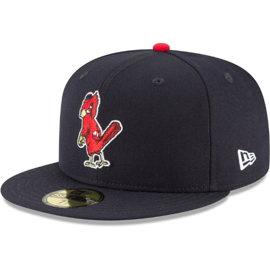 St. Louis Cardinals Navy Blue Fitted Hat