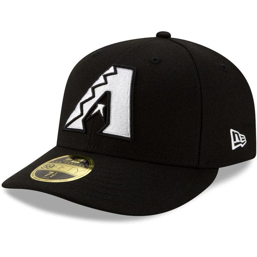 New Era Arizona Diamondbacks Black Low Profile 59FIFTY Fitted Hat