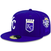 Kansas City Royals Patch Pride Fitted Hat