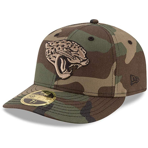 New Era Jacksonville Jaguars Woodland Low Profile 59FIFTY Fitted Hat