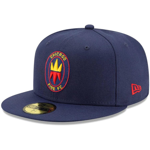 New Era Chicago Fire Navy Blue 59FIFTY Fitted Hat