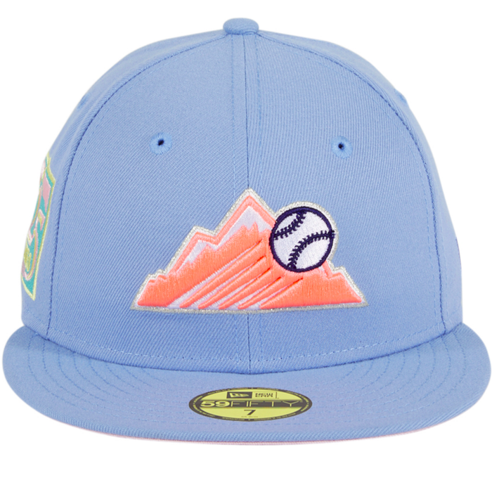 New Era Colorado Rockies Cotton Candy 59Fifty Fitted Hat