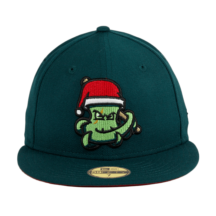 Santa OctoSlugger Fitted Hat