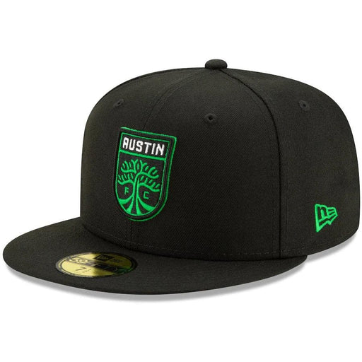 New Era Austin FC Black & Green 59FIFTY Fitted Hat