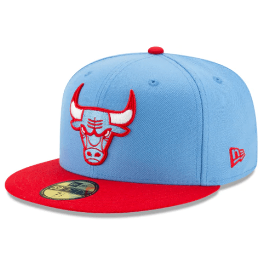Chicago Bulls City Series Fitted Hat