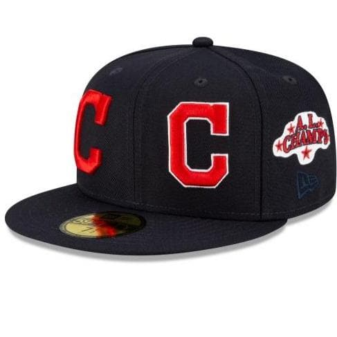 Cleveland Indians Patch Pride Fitted Hat