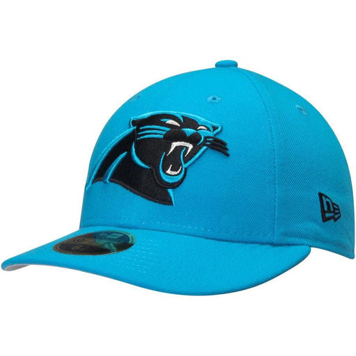 New Era Carolina Panthers Blue Omaha Low Profile 59FIFTY Fitted Hat